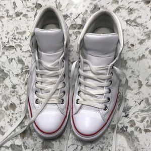 Converse All Star Chuck Taylor leather men's 10.5.